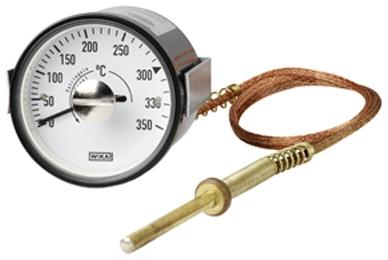 Termometr rozszerzalnościowy z kontaktami przełączajacymi SB15