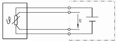 NTC/PTC w połączeniu 4 przewodowym