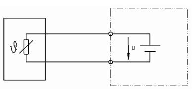 PTC/NTC w połączeniu 2 przewodowym