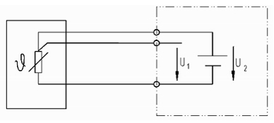 PTC/NTCw połączeniu 3 przewodowym