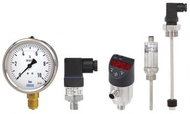 Wybrana technologia pomiarowa WIKA dla agregatów hydraulicznych